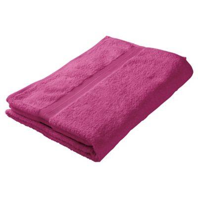Tesco Bath Towel Sweet Pink