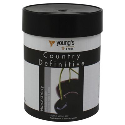 Youngs Definitive Country Blackcherry Wine Kit, 6 bottles