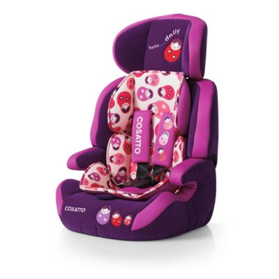 Cosatto Zoomi Car Seat Group 123, Hello Dolly