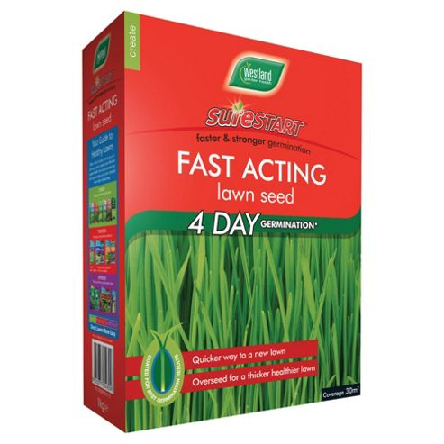 Westland Sure Start Fast Acting Lawn Seed 30m2
