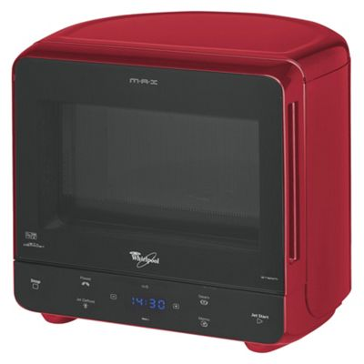 Whirlpool  Solo Microwave Max 35 13L, Red