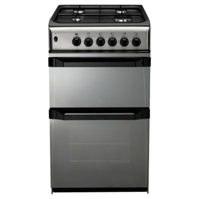 Indesit IT50GM moonstone gas twin cooker