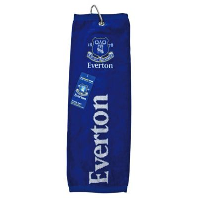 Everton Golf Towel (Tri-Fold)