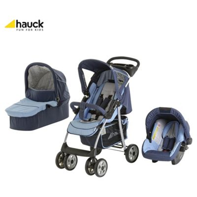 Hauck Shopper Trioset Travel System, Blue