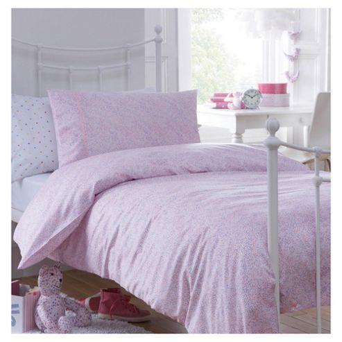 Little Boutique Hundreds And Thousands Duvet Cover Set Pink Double