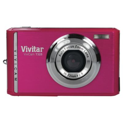 buy vivitar t325 pink digital camera from our all cameras range tesco rh tesco com