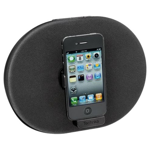 Technika SP 211Cp Black Rotating Circle Speaker Dock