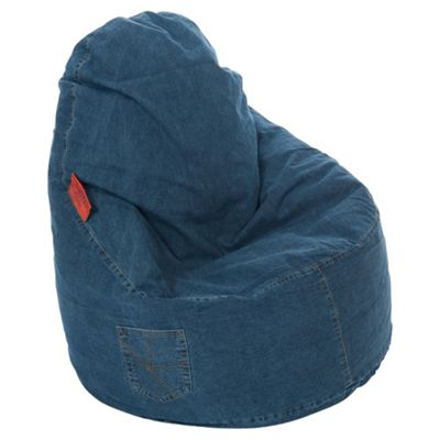 Attractive Kaikoo Ezee Bean Bag Chair, Dark Denim