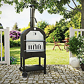 IQ Pizza Oven Smoker and BBQ - Free Accessory Pack Worth £45 - BBQ Cover and Utensil Set