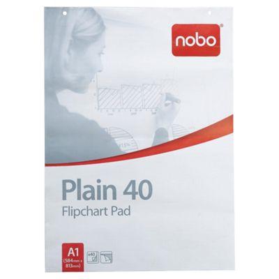 Rexel Nobo A1 Flipchart Pad, 40 Sheets