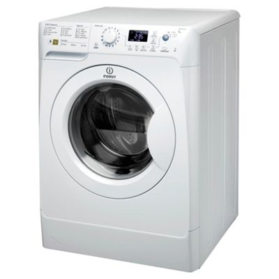 Indesit PWE91672W Washing Machine, 9kg Wash Load, 1600 RPM Spin, A++ Energy Rating. White