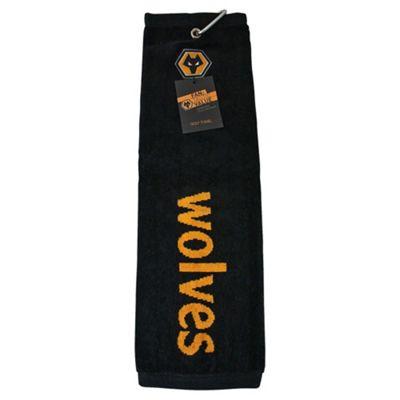 Wolves Golf Towel (Tri-Fold)