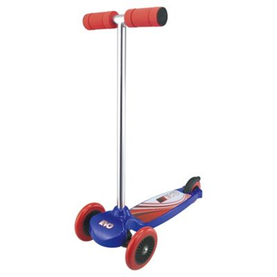 Evo Move 'N' Groove 3-Wheel Scooter, Blue & Red