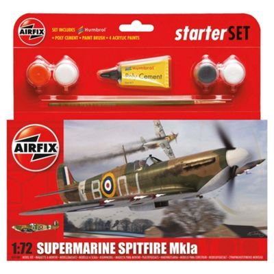 Airfix Supermarine Spitfire MKla 1:72 Scale Model Set
