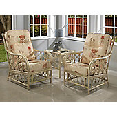 Desser Morley 2 Conservatory Chairs Set and Lamp Table
