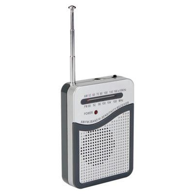 Tesco RAD112R Pocket Analogue Radio