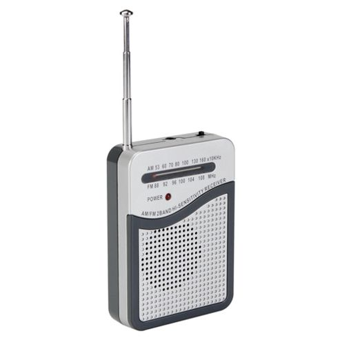 Tesco RAD 112R Pocket Analogue Radio