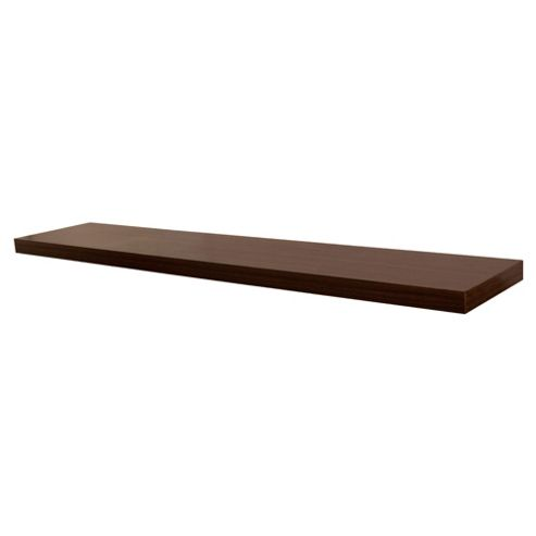 Walnut Floating Shelf 120cm