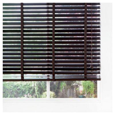 Wood Venetian Blind Pure Mocha 180cm 50mm slats