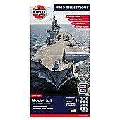 Airfix Royal Navy HMS Illustrious 1:350 Scale Modern Warship Gift Set