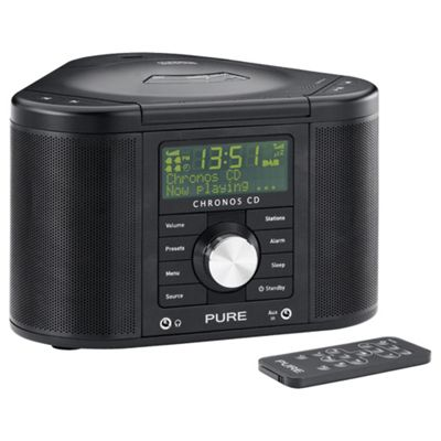 PURE OUTLET Chronos II CD DAB/FM clock radio