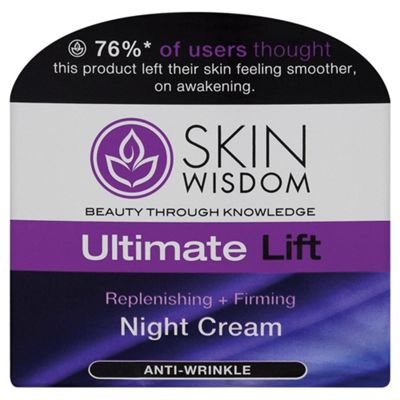 Skin Wisdom Ultimate Lift Night Cream 50ml