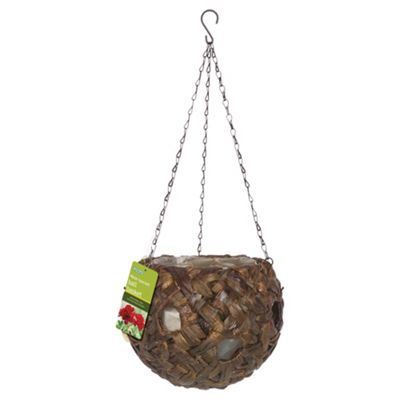 Gardman Water Hyacinth Ball Hanging Basket with Holes
