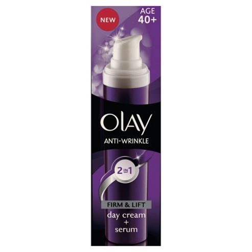 Olay Anti-Wrinkle 2In1 Day Cream & Serum 50ml