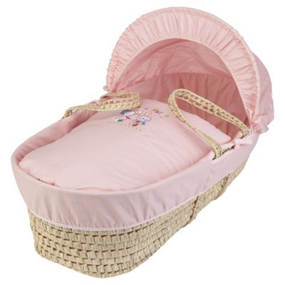 Clair de lune Mix & Patch Moses Basket
