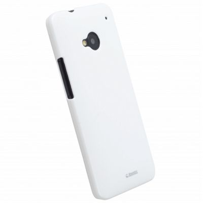 Krusell ColourCover Clip-On Case for HTC One - White