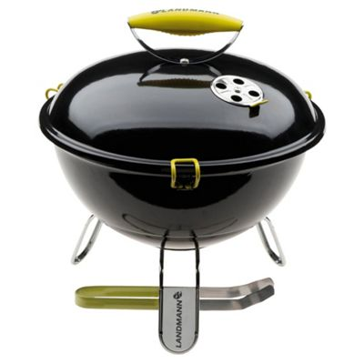 Landmann Piccolino Portable Charcoal BBQ, Black 31374