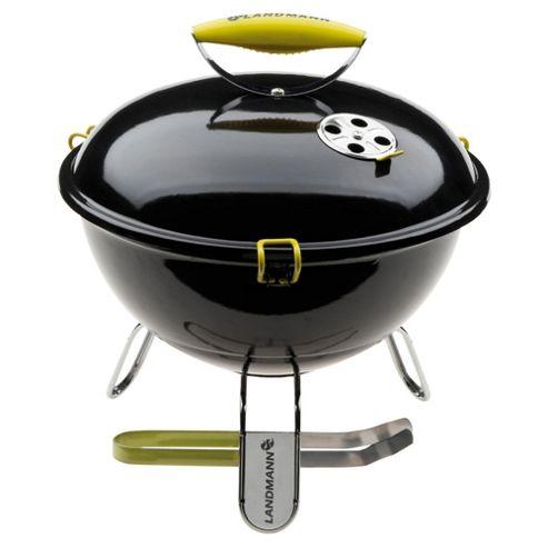 Landmann Piccolino Portable Charcoal BBQ, Black 31374