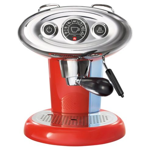 Francis Francis Illy X7.1 Espresso Coffee Machine - Red