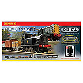 Hornby R1126 Mixed Freight 00 Gauge Dcc Electric Train Set