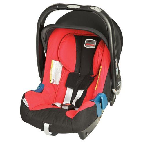 Britax Baby Safe Plus SHR II Group 1 Baby Car Seat, Lisa Red