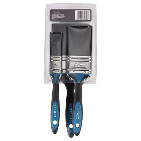 Tesco loss free brush set, 3 pack