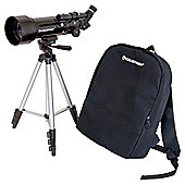 Celestron Travel Scope 50 Portable Telescope 21035
