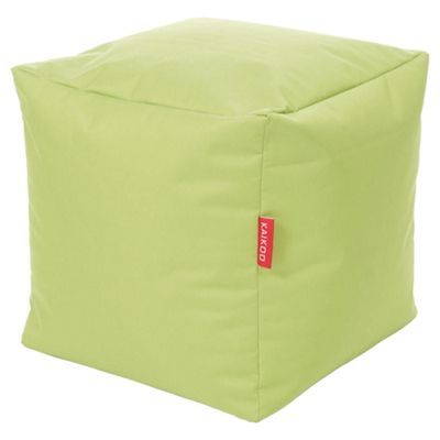 Kaikoo Indoor/Outdoor Bean Bag Cube, Lime
