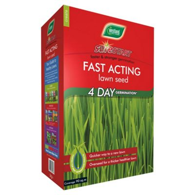 Westland Sure Start Fast Acting Lawn Seed 90m²