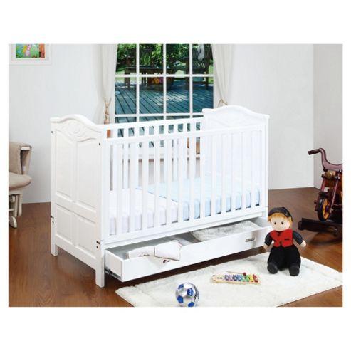 Tutti Bambini Jake Cot Bed, White