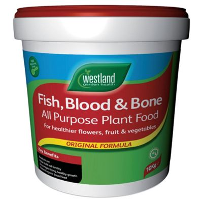 Westland Fish Blood & Bone All Purpose Plant Food, 10kg