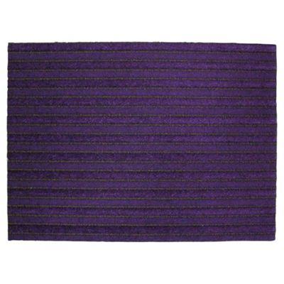 Primeur Paris Barrier Doormat, Purple 60x80cm
