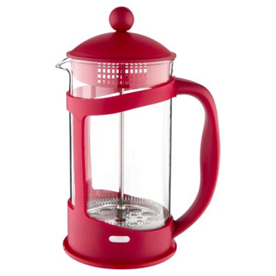 Cafetiere, 8 Cup, Red
