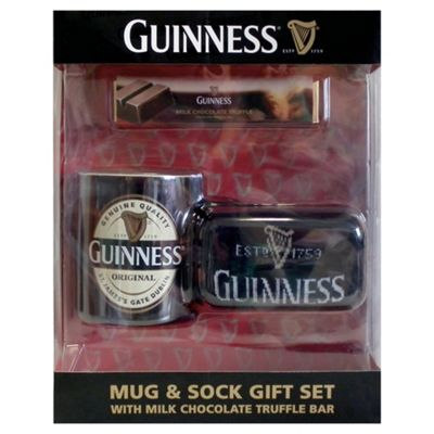 Guinness Mug and Sock Set