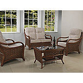 Desser Santiago 3 Piece Conservatory Furniture Set and Coffee Table