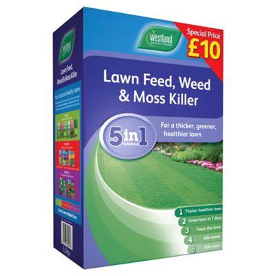 Westland Lawn Feed ,Weed & Moss Killer 180m2