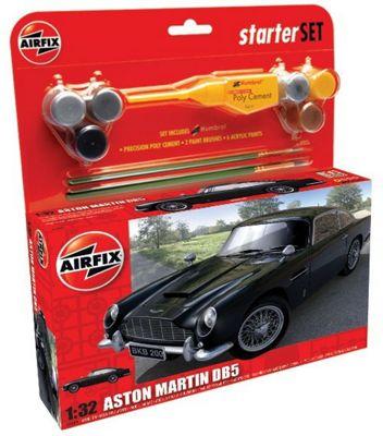 Airfix A50089 Aston Martin DB5 1:32 Scale Classic Car Starter Model Kit