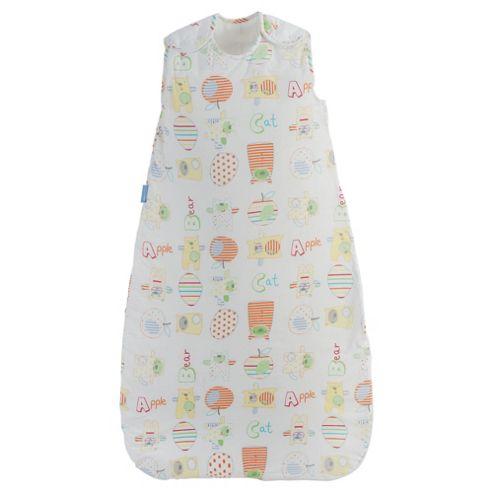 Grobag Baby Sleeping Bag, Bright Bear 1.0 tog 6-18 Months