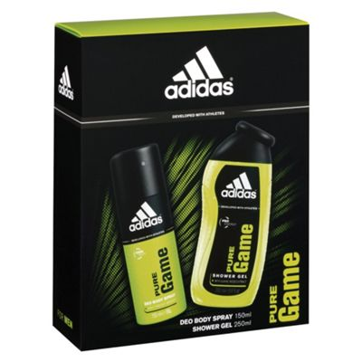 Adidas Man Ice Dive Duo 2 Piece Set - 150ml Body Spray And 250ml Shower Gel