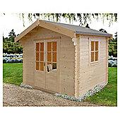 Fiston Log Cabin 8x8 by Finewood